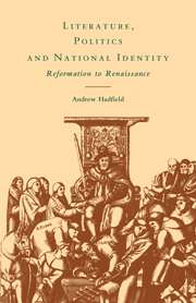 Literature, Politics and National Identity