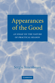 Appearances of the Good