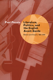 Literature, Politics, and the English Avant-Garde