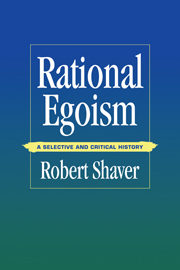 Rational Egoism