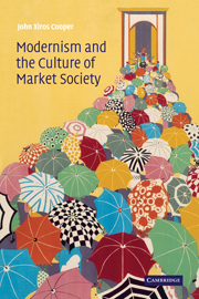Modernism and the Culture of Market Society