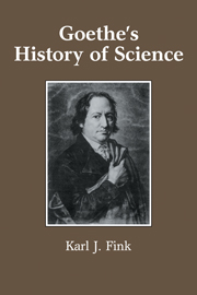 Goethe's History of Science