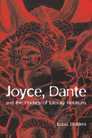 Joyce, Dante, and the Poetics of Literary Relations