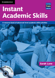 Instant Academic Skills with Audio CD