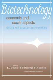 Biotechnology: Economic and Social Aspects