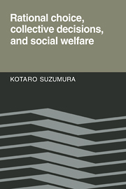 Rational Choice, Collective Decisions, and Social Welfare