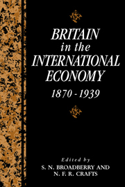 Britain in the International Economy, 1870–1939