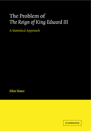 The Problem of The Reign of King Edward III