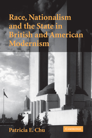 Race, Nationalism and the State in British and American Modernism