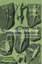 Inventing the Indigenous