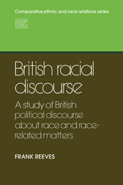 British Racial Discourse
