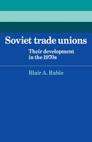 Soviet Trade Unions