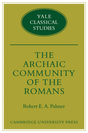 The Archaic Community of the Romans