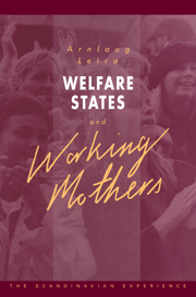 Welfare States and Working Mothers