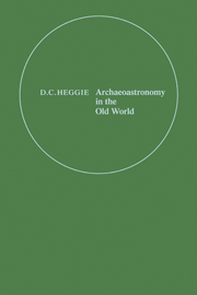 Archaeoastronomy in the Old World