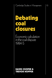 Debating Coal Closures