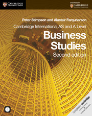 Business Studies: A and AS Level