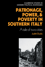 Patronage, Power and Poverty in Southern Italy