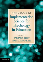 Handbook of Implementation Science for Psychology in Education