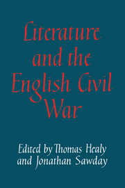 Literature and the English Civil War