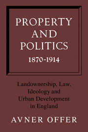 Property and Politics 1870–1914
