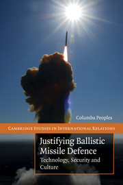 Justifying Ballistic Missile Defence