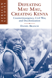 Defeating Mau Mau, Creating Kenya