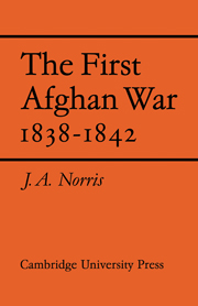 The First Afghan War 1838–1842