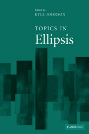 Topics in Ellipsis
