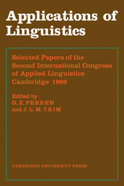 Applications of Linguistics