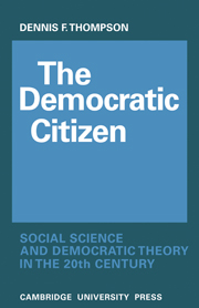 The Democratic Citizen
