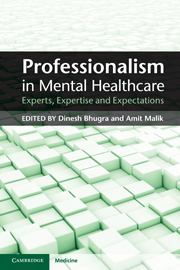 Professionalism in Mental Healthcare