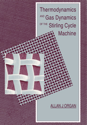Thermodynamics and Gas Dynamics of the Stirling Cycle Machine