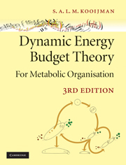Dynamic Energy Budget Theory for Metabolic Organisation
