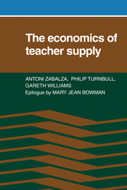 The Economics of Teacher Supply