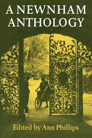 A Newnham Anthology