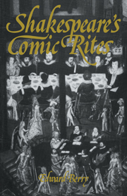 Shakespeare's Comic Rites