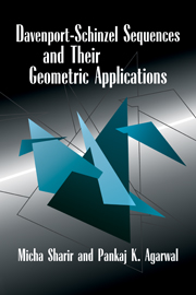 Davenport–Schinzel Sequences and their Geometric Applications