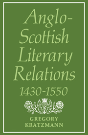 Anglo-Scottish Literary Relations 1430–1550