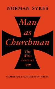 Man as Churchman