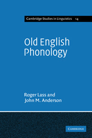 Old English Phonology