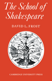 The School of Shakespeare