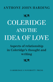 Coleridge and the Idea of Love