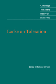 Locke on Toleration