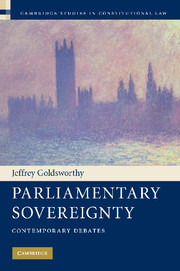 Parliamentary Sovereignty