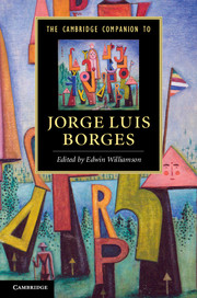 The Cambridge Companion to Jorge Luis Borges