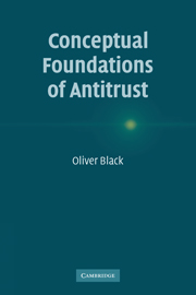Conceptual Foundations of Antitrust