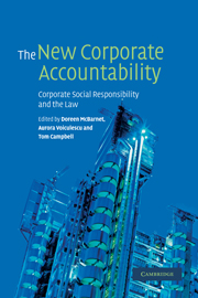 The New Corporate Accountability