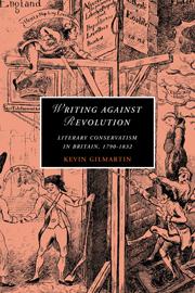 Writing against Revolution