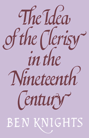The Idea of the Clerisy in the Nineteenth Century